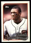 1989 Topps #447  Donell Nixon  Front Thumbnail