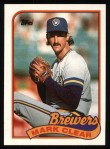 1989 Topps #63  Mark Clear  Front Thumbnail