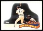 1989 Topps #579   -  Glenn Davis Astros Leaders Front Thumbnail