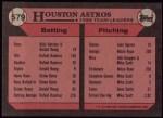 1989 Topps #579   -  Glenn Davis Astros Leaders Back Thumbnail