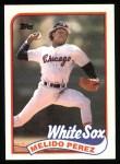 1989 Topps #786  Melido Perez  Front Thumbnail