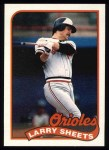 1989 Topps #98  Larry Sheets  Front Thumbnail