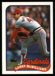 1989 Topps #259  Larry McWilliams  Front Thumbnail