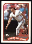 1989 Topps #172  Frank Williams  Front Thumbnail
