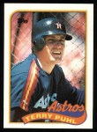 1989 Topps #119  Terry Puhl  Front Thumbnail