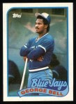 1989 Topps #50  George Bell  Front Thumbnail