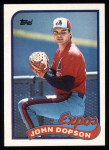 1989 Topps #251  John Dopson  Front Thumbnail