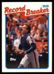 1989 Topps #3   -  Gary Carter Record Breaker Front Thumbnail