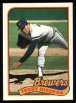 1989 Topps #595  Teddy Higuera  Front Thumbnail