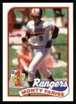 1989 Topps #177   -  Monty Fariss #1 Draft Pick Front Thumbnail