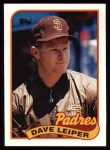 1989 Topps #82  Dave Leiper  Front Thumbnail