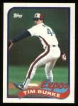 1989 Topps #48  Tim Burke  Front Thumbnail
