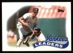 1989 Topps #519   -  Willie Randolph Yankees Leaders Front Thumbnail