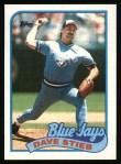 1989 Topps #460  Dave Stieb  Front Thumbnail