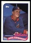 1989 Topps #534  Doc Edwards  Front Thumbnail