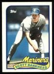1989 Topps #79  Scott Bankhead  Front Thumbnail