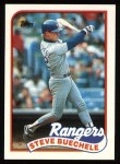 1989 Topps #732  Steve Buechele  Front Thumbnail