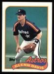 1989 Topps #765  Glenn Davis  Front Thumbnail