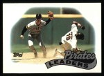1989 Topps #699   Pirates Leaders Front Thumbnail