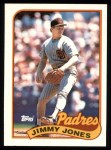 1989 Topps #748  Jimmy Jones  Front Thumbnail