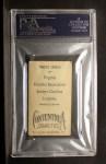 1910 T209-2 Contentnea  Foltz  Back Thumbnail