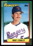 1990 Topps #92  Mike Stanley  Front Thumbnail