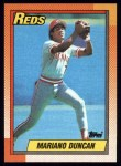 1990 Topps #234  Mariano Duncan  Front Thumbnail