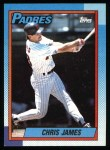 1990 Topps #178  Chris James  Front Thumbnail