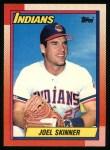 1990 Topps #54  Joel Skinner  Front Thumbnail