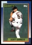 1990 Topps #602  Scott Garrelts  Front Thumbnail