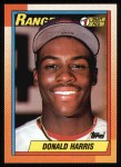 1990 Topps #314   -  Donald Harris #1 Draft Pick Front Thumbnail