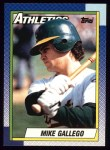 1990 Topps #293  Mike Gallego  Front Thumbnail