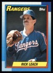 1990 Topps #27  Rick Leach  Front Thumbnail