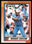 1990 Topps #714  Marquis Grissom  Front Thumbnail