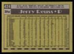 1990 Topps #424  Jerry Reuss  Back Thumbnail