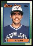 1990 Topps #594  Luis Sojo  Front Thumbnail
