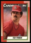 1990 Topps #59  Ted Power  Front Thumbnail