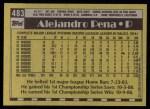 1990 Topps #483  Alejandro Pena  Back Thumbnail