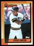 1990 Topps #482  Steve Carter  Front Thumbnail