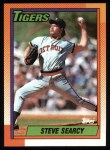 1990 Topps #487  Steve Searcy  Front Thumbnail