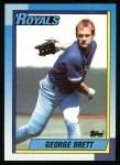1990 Topps #60  George Brett  Front Thumbnail