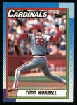 1990 Topps #95  Todd Worrell  Front Thumbnail