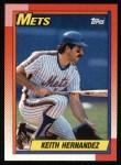 1990 Topps #230  Keith Hernandez  Front Thumbnail