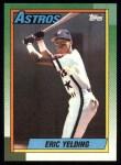 1990 Topps #309  Eric Yelding  Front Thumbnail