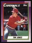 1990 Topps #533  Tim Jones  Front Thumbnail
