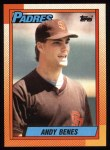 1990 Topps #193  Andy Benes  Front Thumbnail
