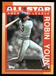 1990 Topps #389   -  Robin Yount All-Star Front Thumbnail