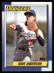 1990 Topps #248  Dave Anderson  Front Thumbnail