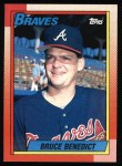 1990 Topps #583  Bruce Benedict  Front Thumbnail