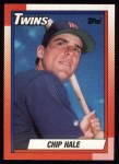 1990 Topps #704  Chip Hale  Front Thumbnail
